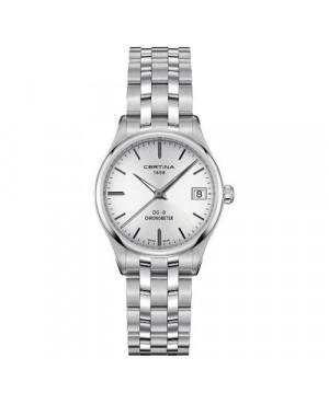 Szwajcarski, klasyczny zegarek damski Certina DS-8 Lady 30 mm C033.251.11.031.00 (C0332511103100)