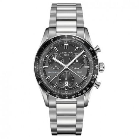 Szwajcarski, sportowy zegarek męski Certina DS-2 Chronograph 1/100 sec C024.447.11.081.00 (C0244471108100)