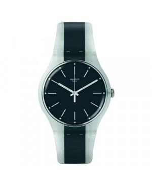 Szwajcarski zegarek damski SWATCH Originals New Gent SUOW142 GREYLINE
