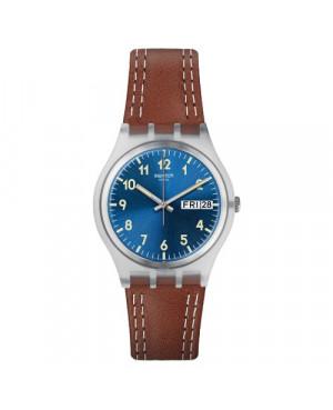 Szwajcarski, modowy zegarek damski SWATCH Irony Medium GE709 WINDY DUNE