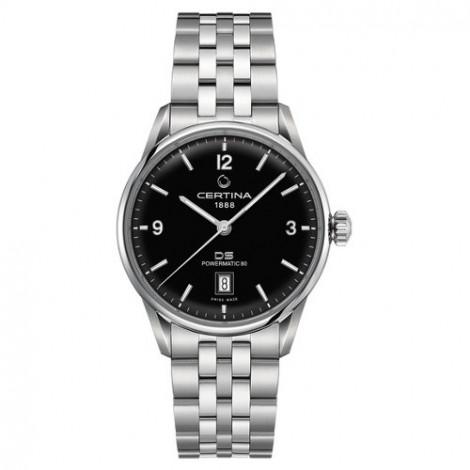 Szwajcarski, klasyczny zegarek męski Certina DS Powermatic 80 C026.407.11.057.00 (C0264071105700)