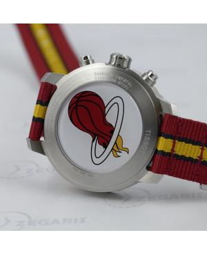 Szwajcarski zegarek męski Tissot QUICKSTER NBA T095.417.17.037.08 edycja specjalna