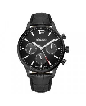 Elegancki zegarek męski ADRIATICA Aviator A8263.B254QF (A8263B254QF)