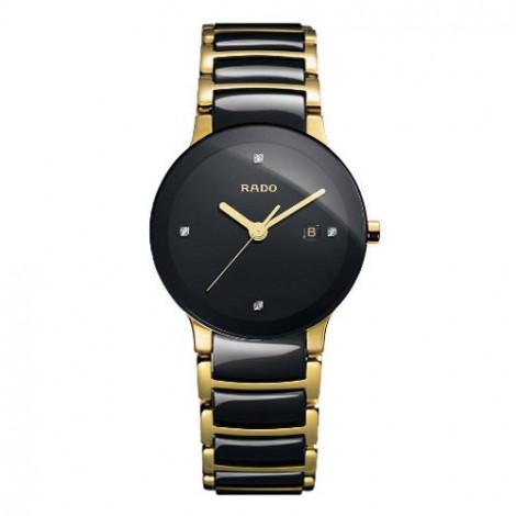 Szwajcarski, elegancki zegarek damski RADO Centrix Diamonds R30930712